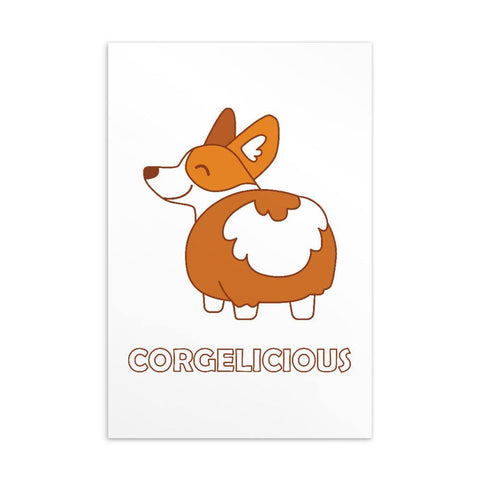 Corgelicious Standard Postcard