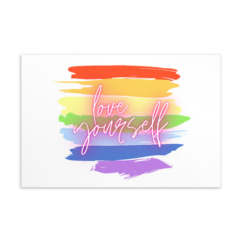 Love Yourself Standard Postcard