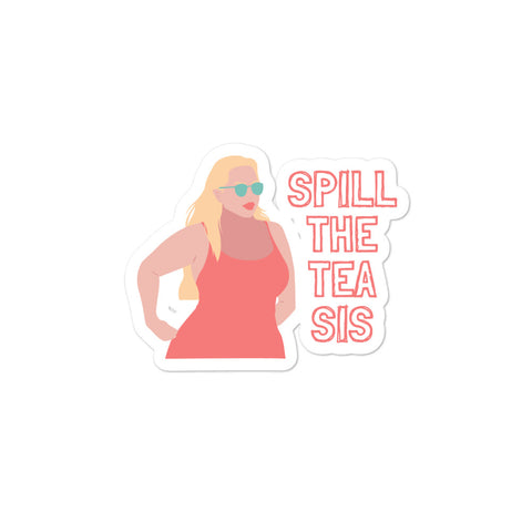Spill The Tea Bubble-free stickers
