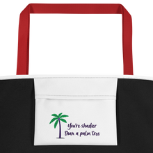 Load image into Gallery viewer, Shadier Than A Palm Tree Beach Bag