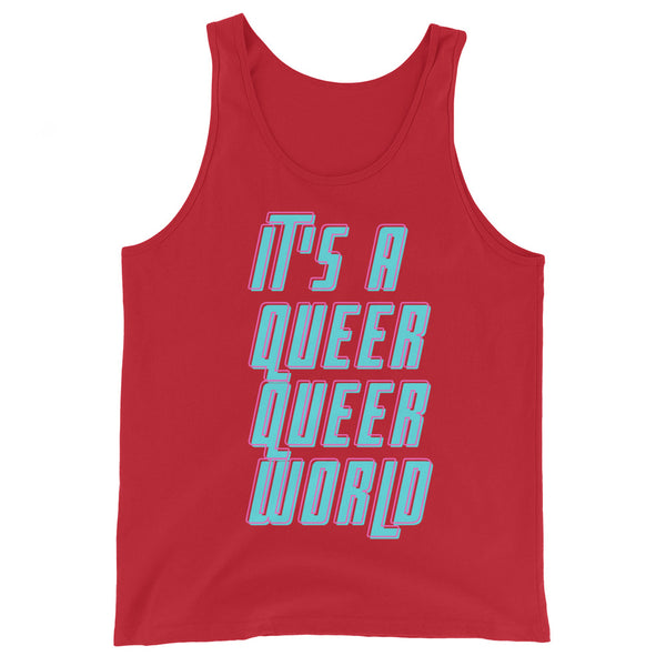 It's A Queer Queer World Unisex Tank Top