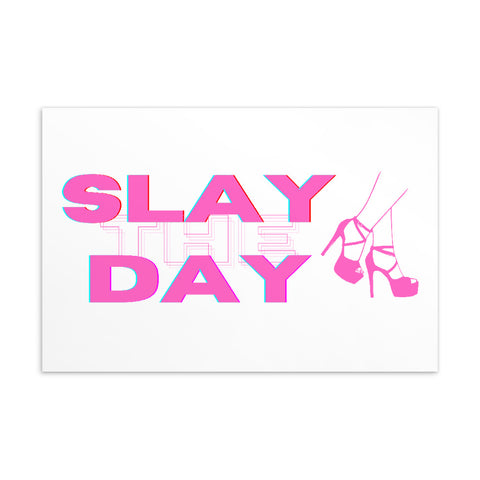 Slay The Day Standard Postcard