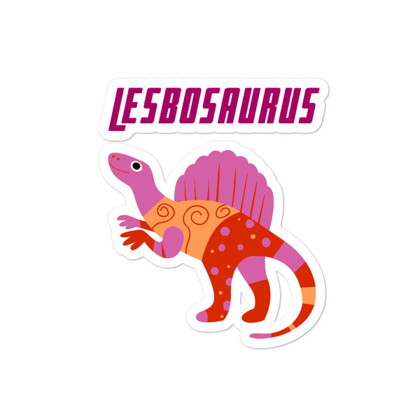 Lesbosaurus Bubble-free stickers