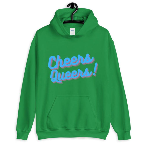 Cheers Queers Unisex Hoodie - Queer In The World: The Store