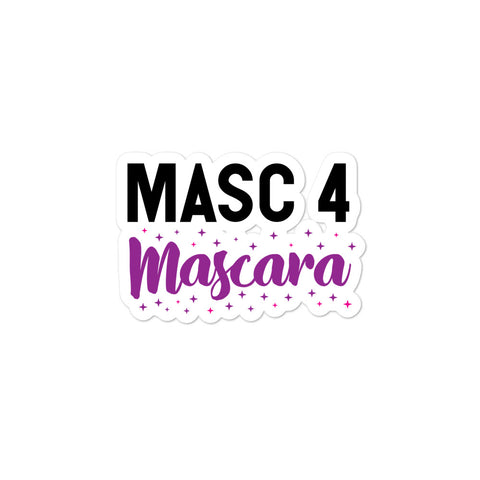 Masc 4 Mascara Bubble-Free Stickers
