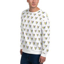 Load image into Gallery viewer, Rainbow Fox Print Unisex Sweatshirt