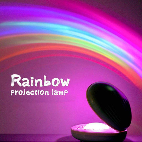 Pocket Rainbow Projection Lamp