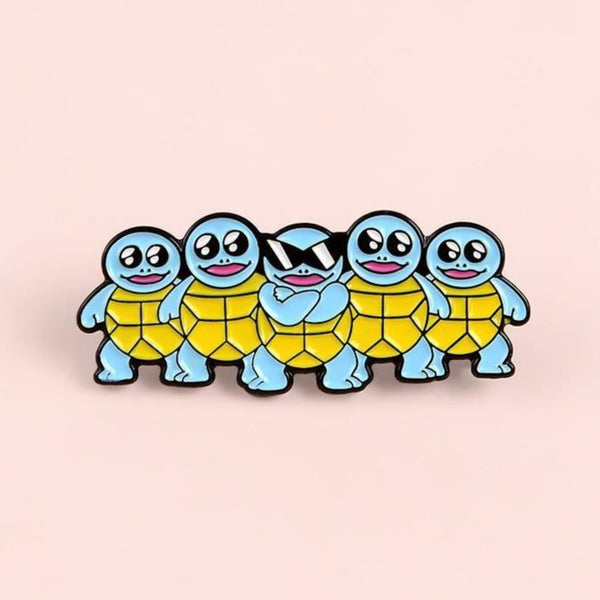 Cool Squirtle Crew Enamel Pin - Queer In The World: The Store