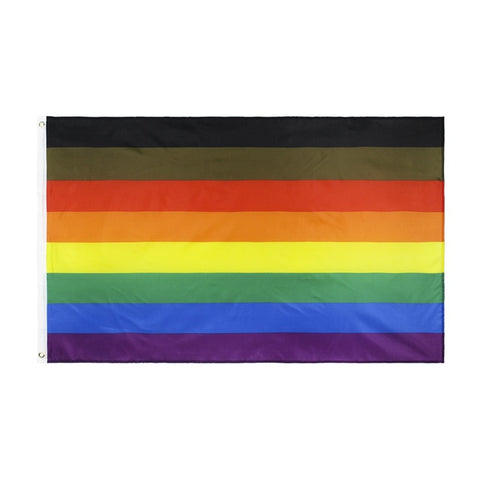 LGBT People Of Colour Pride Flag