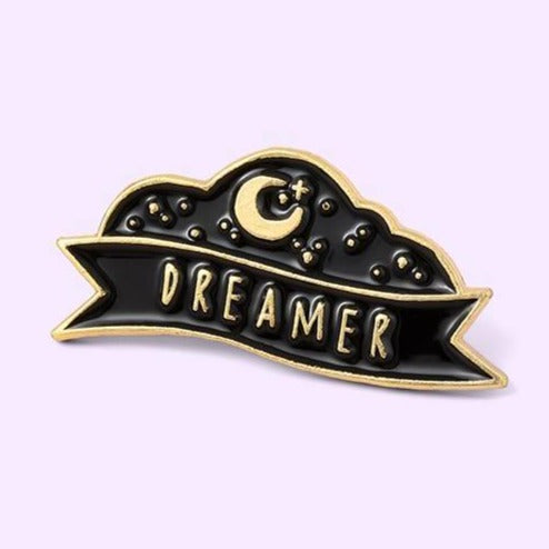 Dreamer Enamel Pin - Queer In The World: The Store