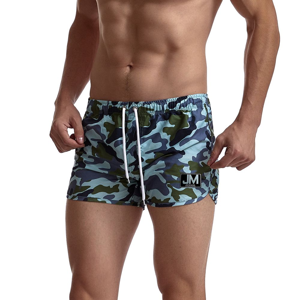 Jockmail Navy Camo Board Shorts