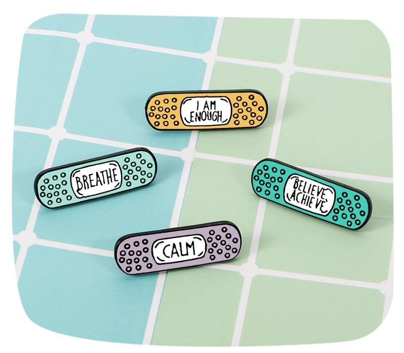Band-Aids For Good Enamel Pins - Queer In The World: The Store