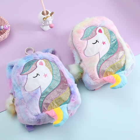 Soft Kawaii Unicorn Backpack