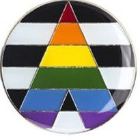 Straight Ally Pride Badge