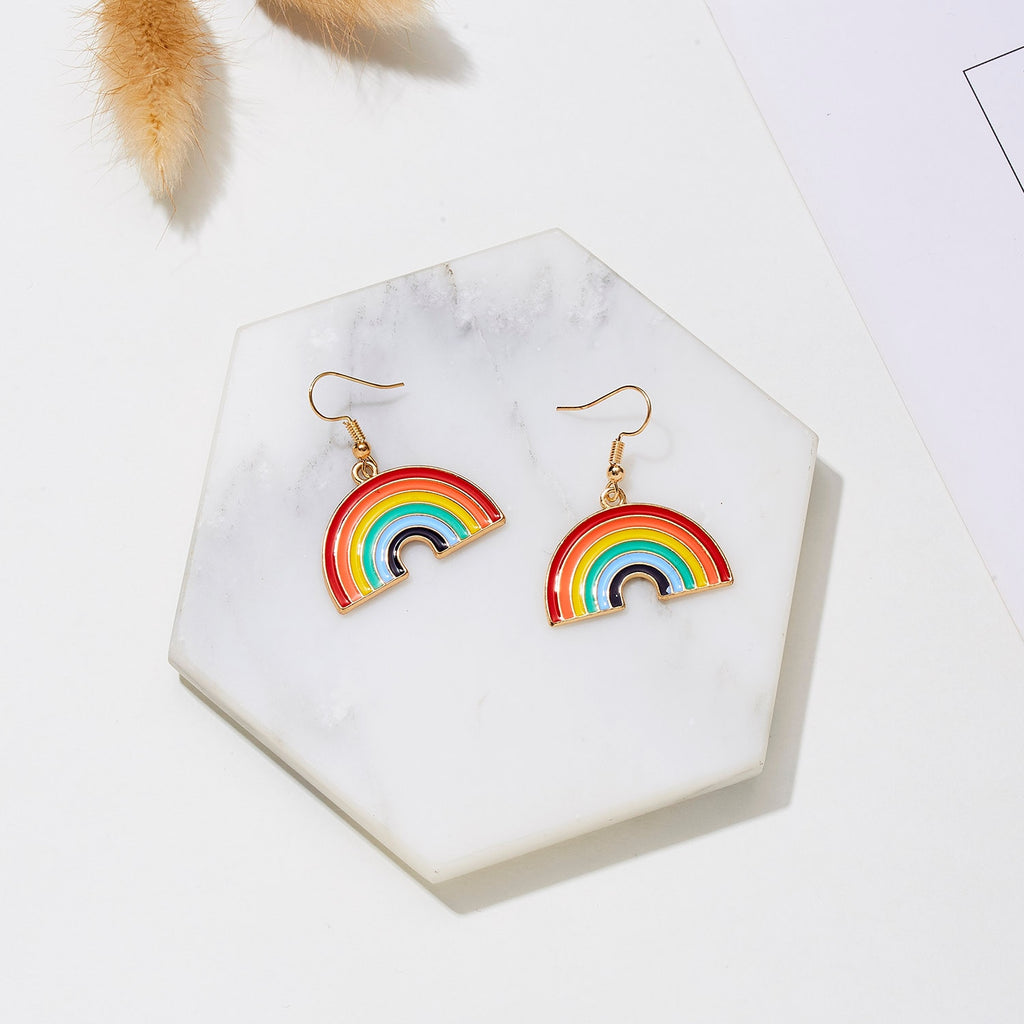 LGBT Rainbow Earrings