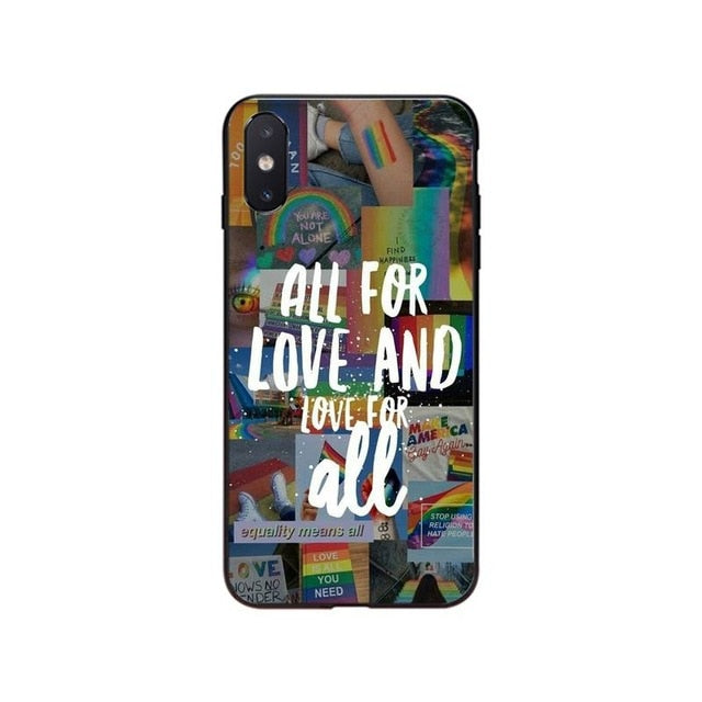 All For Love And Love For All iPhone Case