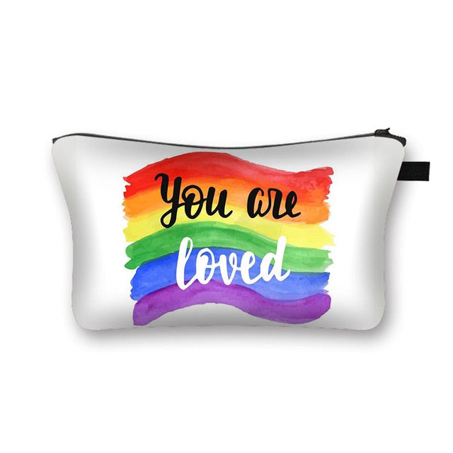 You Are Loved Cosmetic Bag / Makeup Pouch