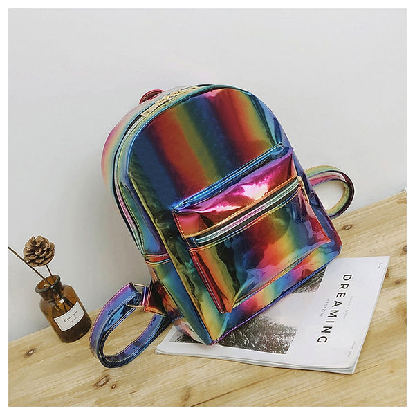 Iconic Rainbow Shimmer Backpack