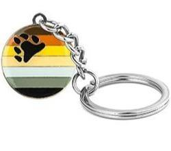 Bear Pride Keychain - Queer In The World: The Store