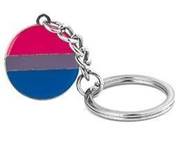 Bisexual Pride Keychain - Queer In The World: The Store