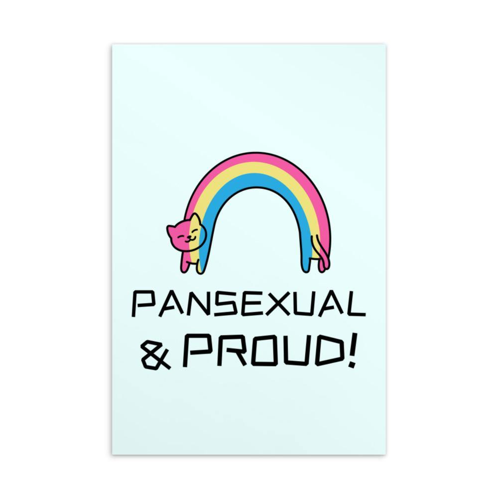 Pansexual & Proud Postcard - Queer In The World: The Store