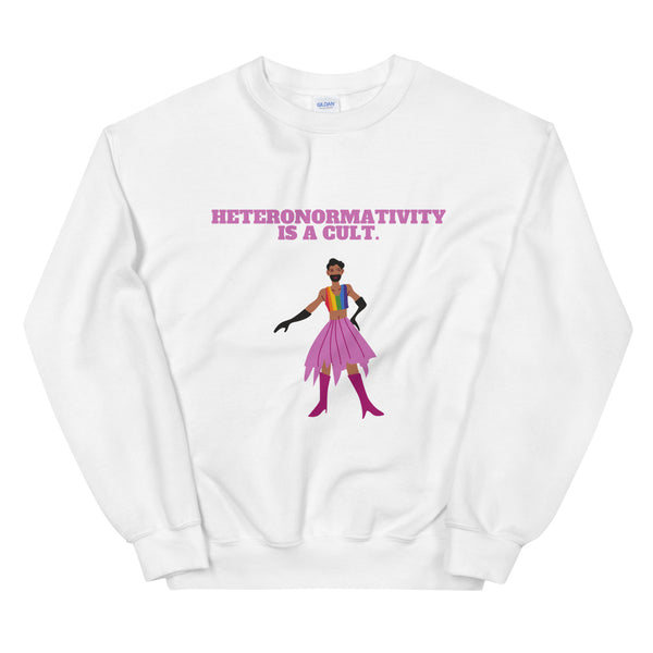 Heteronormativity Is A Cult Unisex Sweatshirt