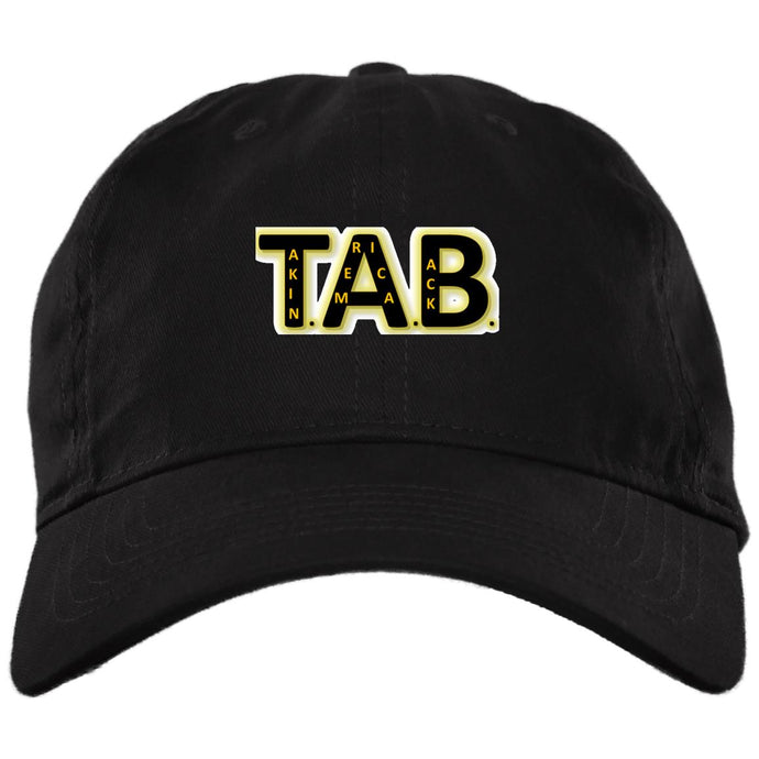 T.A.B._GLD  Embroidered Hat