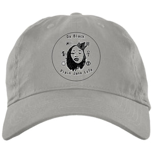 Da Black Plain Jane Lyfe Embroidered Hat