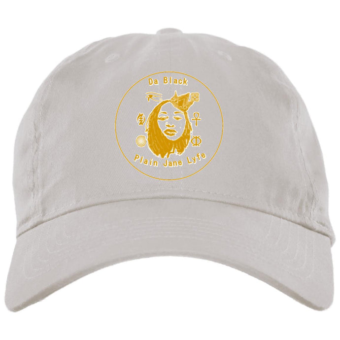 Da Black Plain Jane Lyfe GLD_Embroidered Hat