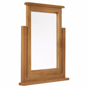 Abbert Oak Single Mirror