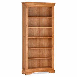 Durant Tall Oak Bookcase