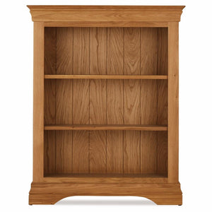 Durant Low Oak Bookcase