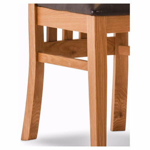 Durant Oak Dining Chairs (Set of 6)