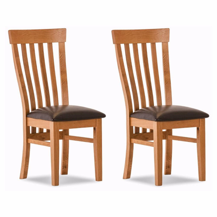 Durant Oak Dining Chairs (Set of 2)