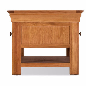 Durant 2 Drawer Oak Coffee Table