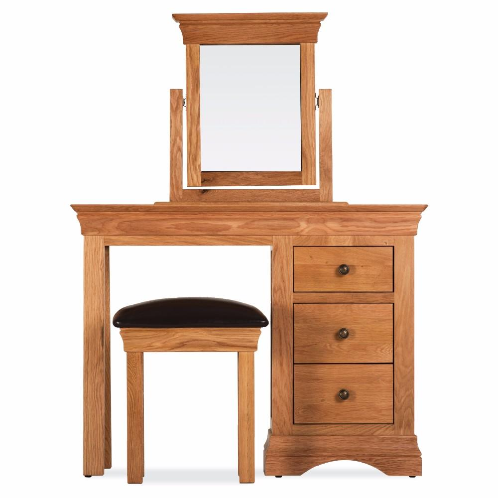 Durant Oak Bedroom Dressing Table Set