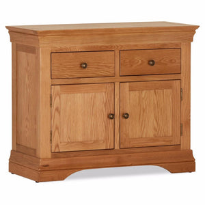 Durant Oak 2 Door / 2 Drawer Sideboard