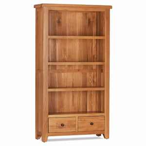 Otago Bookcase With 2 Drawers