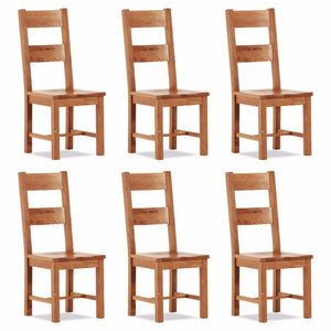Otago Large Chair - Wooden Seat (Set of 6)