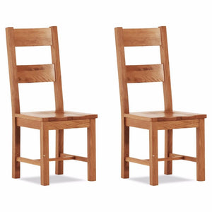Otago Large Chair - Wooden Seat (Set of 2)