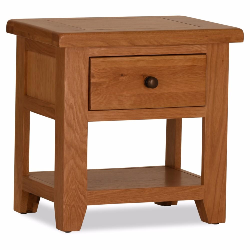 Otago Lamp Table 1 Drawer