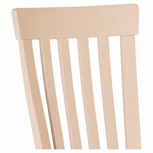 Julia Curved Dining Chair Wooden Seat (set of 4)