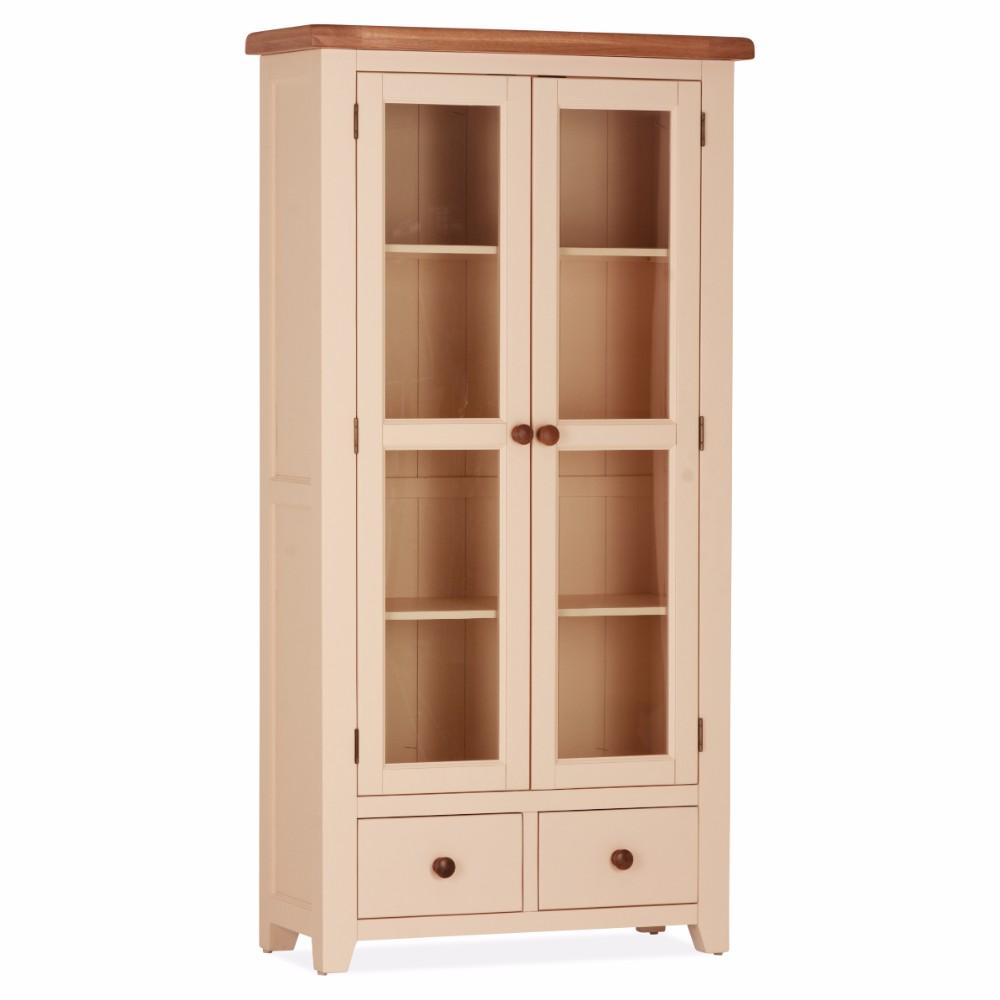 Julia Double Display Cabinet