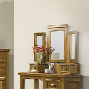 London 3 Way Mirror With Drawers