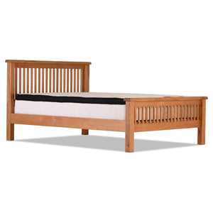 Otago 5ft Oak Slatted Bed