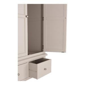 Ventry Double Wardrobe With Drawers