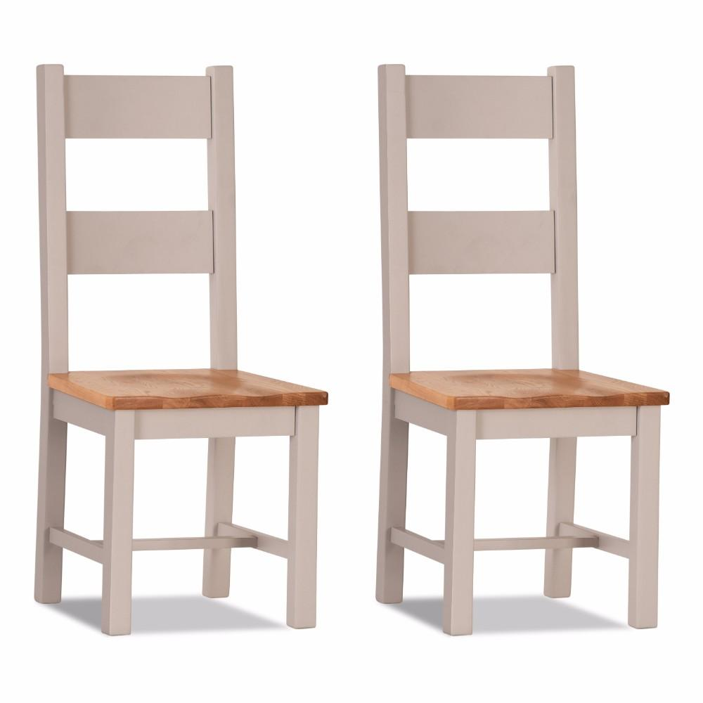 Ventry Dining Chair Wooden seat (Set of 2)