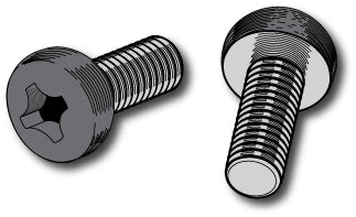 Pan Head Plate Screws (metric)