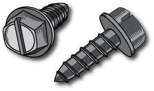 Slot Head Plate Screws (standard)