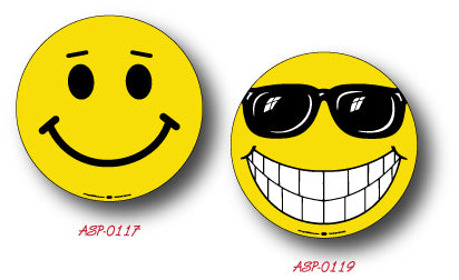 Smiley Face Vinyl Decals